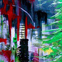 thumbnail of Aftermath no. 12 painting