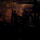 thumbnail of Dark City: Amber painting