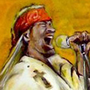 thumbnail of Axl Rose painting
