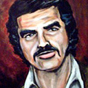 thumbnail of Burt Reynolds painting