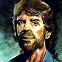 thumbnail of Chuck Norris painting