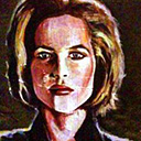 thumbnail of Dana Scully painting
