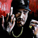 thumbnail of Ice-T painting