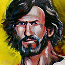 thumbnail of Kris Kristofferson painting