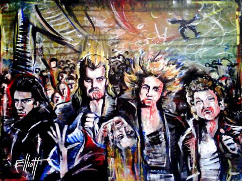 full view of The Lost Boys painting