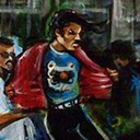 thumbnail of Michael Jackson - Beat It painting