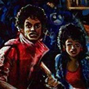 thumbnail of Michael Jackson - Thriller painting