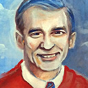 thumbnail of Mr. Rogers painting