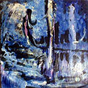 thumbnail of Nine Lives no. 2 - Death by Lady in the Lake painting