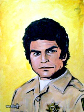 full view of Ponch painting