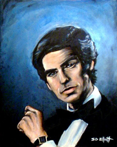 full view of Remington Steele painting