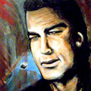 thumbnail of Steven Seagal - Sees Red painting