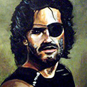 thumbnail of Snake Plissken painting